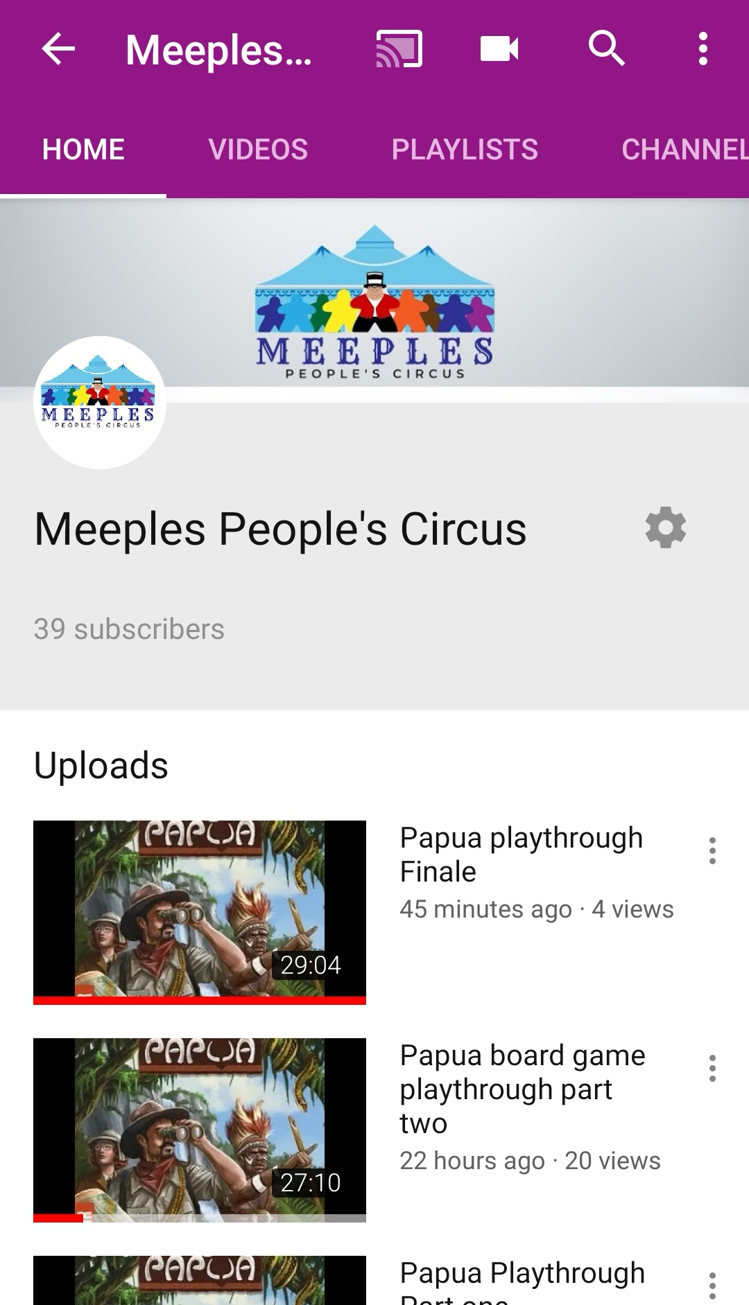 check out myyoutube
